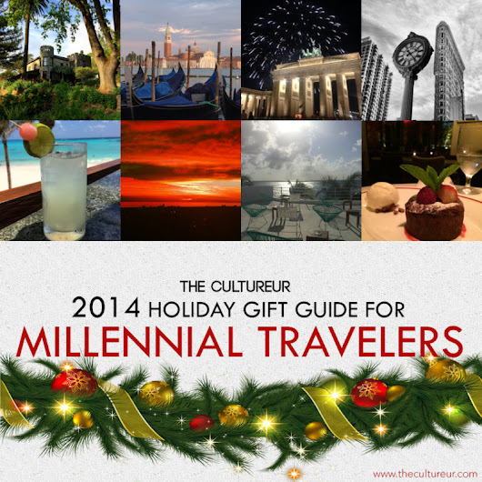 2014 Holiday Gift Guide: 25 Ideas for Millennial Travelers
