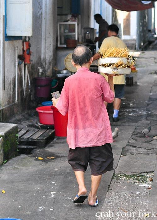 ipoh thean chun coffee shop satay alley