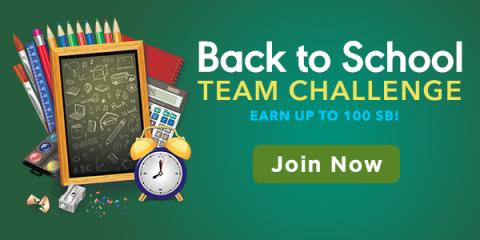 Earn Free Gift Cards during the Back to School Team Challenge - US
