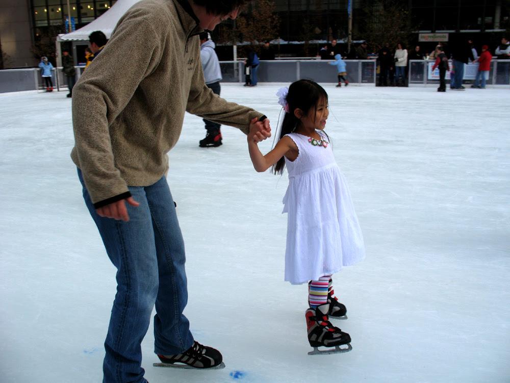 Fountain square skating