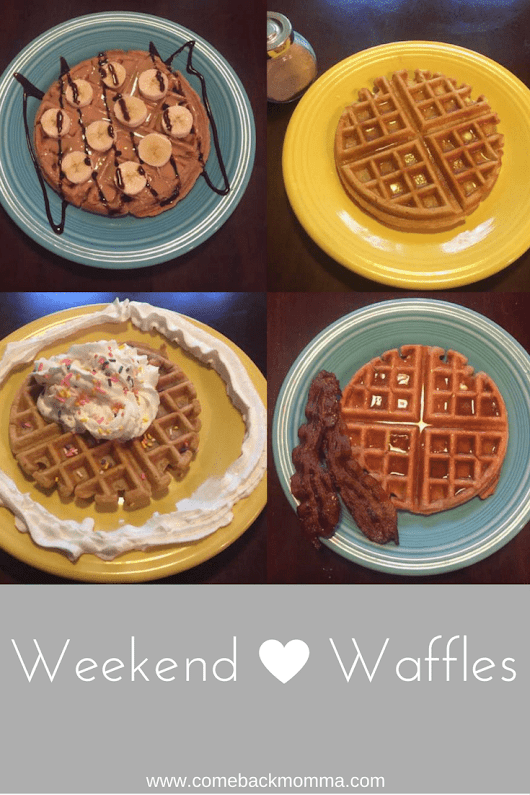 Delicious Homemade Waffles - Comeback Momma