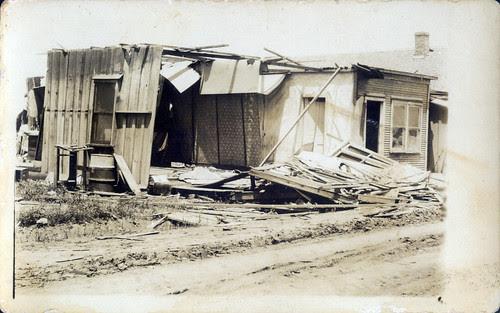 Tornado damage somewhere