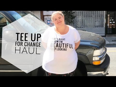 The little crafter show: Tee up for change haul.