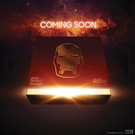 Samsung Teases Iron Man Edition Galaxy S6 on Twitter | Androidheadlines.com