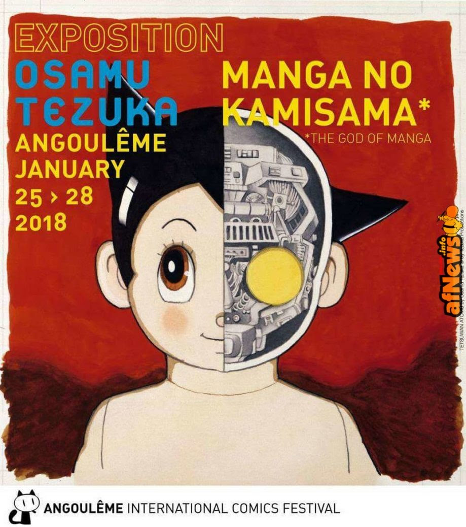 Grande mostra su Tezuka ad Angoulême 2018!