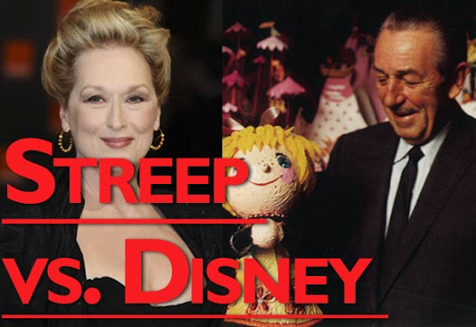 Fact-Checking Meryl Streep's Disney-Bashing Speech