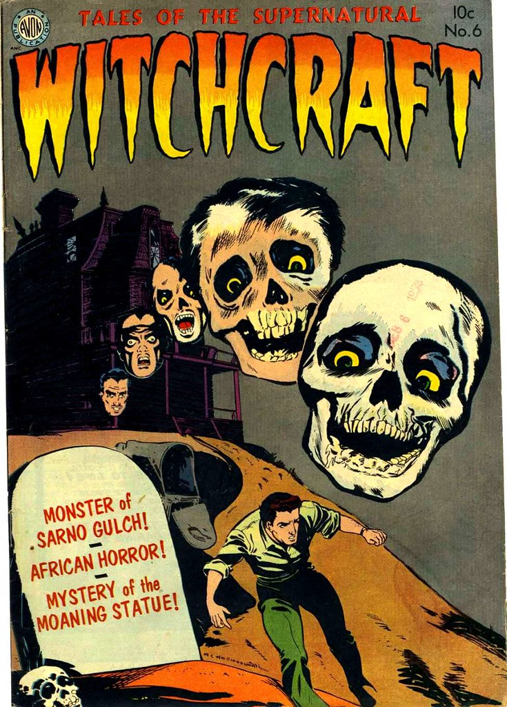 Witchcraft 6 Avon Comics 1953