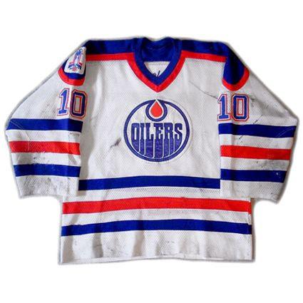Edmonton Oilers 88-89 jersey