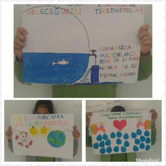 Dünya Su Günü Sloganlarımız Eğitim Bilişim Ağı