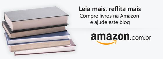 Compre livros na Amazon e ajude este blog