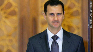 Syrian President Bashar al-Assad is the target of U.S. sanctions.