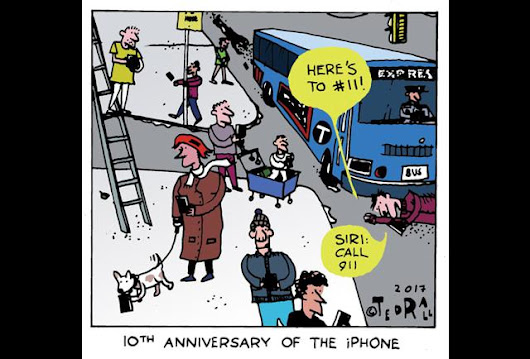 Happy Anniversary Apple! Here's To 10 More Years Of iPhone-Related Distraction - pg.3