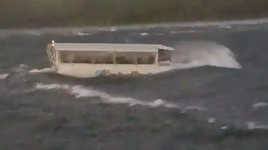 Video shows moments before Branson, Missouri duck boat capsizes