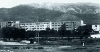 Το νοσοκομείο Σωτηρία. Οι ασθενείς το είχαν μετατρέψει σε φρούριο της Αντίστασης.