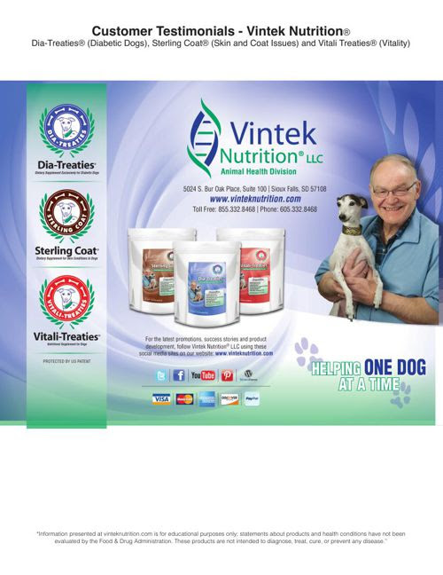 Vintek Nutrition Customer Testimonials 2-28-15 updated