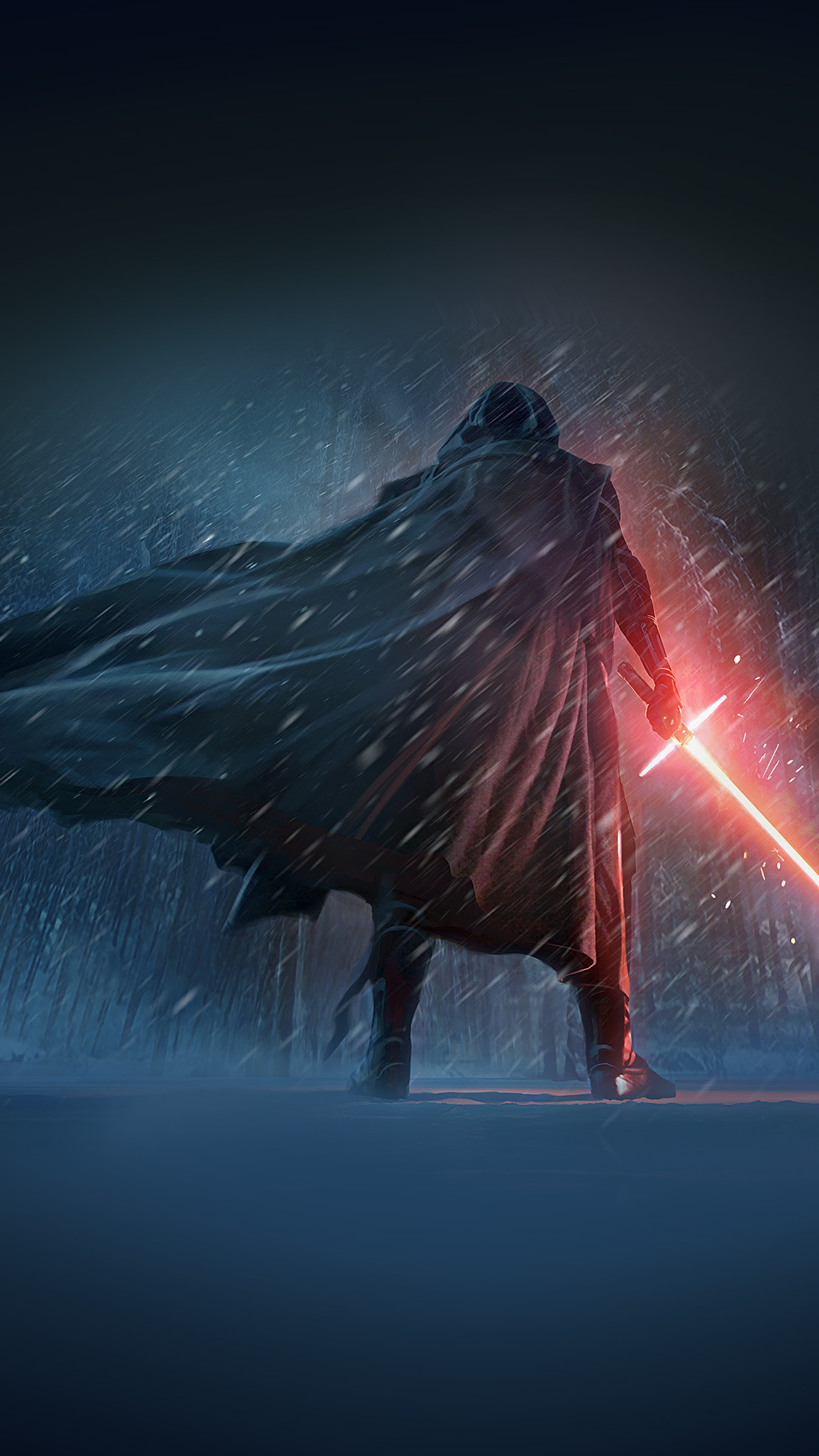 Iphone6papers Ao70 Darth Vader Starwars 7 Poster Film Art