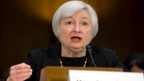 Janet Yellen delivers 1st public remarks as Fed chair - Business - CBC News