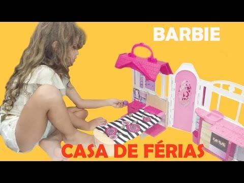 BARBIE NOVA CASA DE FÉRIAS