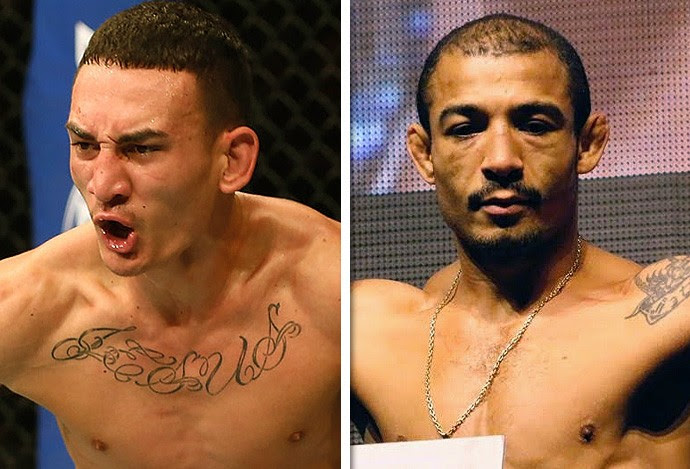 Max Holloway x José Aldo  (Foto: Getty)