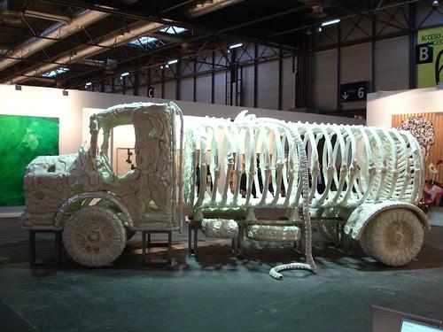 camió exposat a ARCO 2009