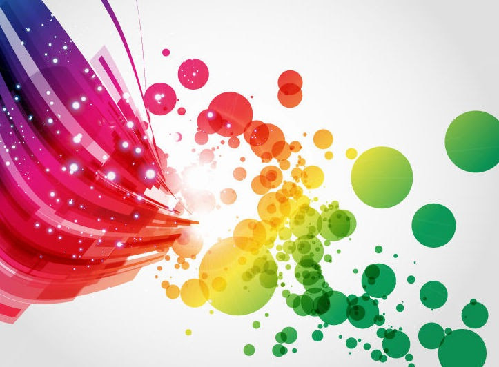 Abstract Colorful Vector Background Art Free Vector Graphics All