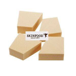 Makeup sponge wedges
