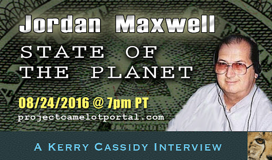 JORDAN MAXWELL – UPDATE ON STATE OF THE PLANET – 7PM WED