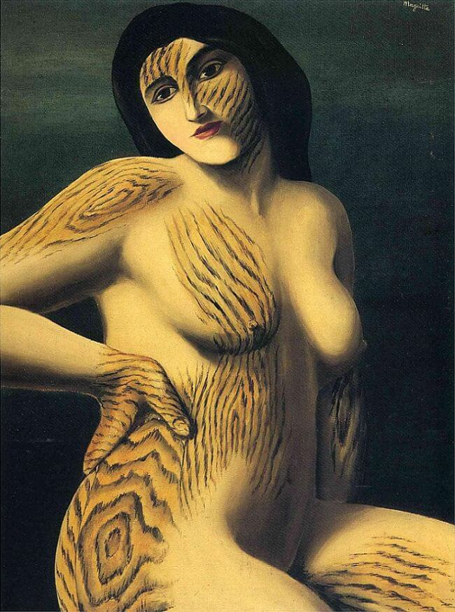 Discovery, 1928 by Rene Magritte