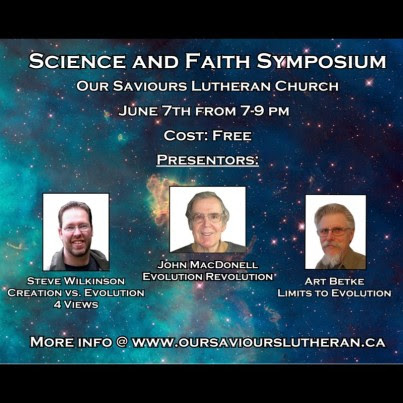 Science and Faith Symposium in Prince George BC Canada -...