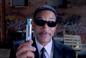 Will Smith returns as Agent J in MEN IN BLACK III.