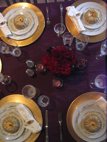 Thanksgiving Tablescape 2007