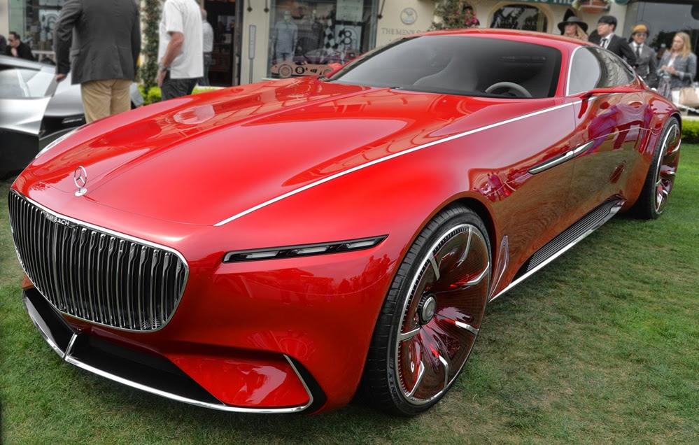 Vision Mercedes-Maybach 6 Walk-Around