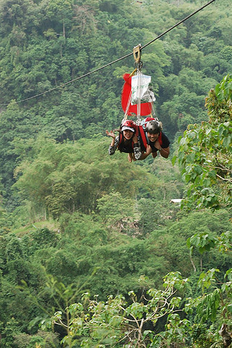 Zip line mae and mencit