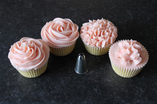 How To Pipe Buttercream Cupcakes