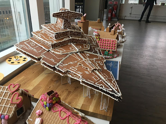 A Gingerbread Imperial Star Destroyer