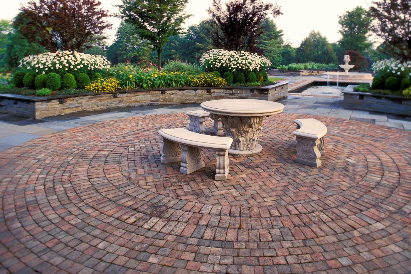 Brick Walkways and Patios | Cording Landscape Design