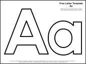 Educational Printables: Alphabet Templates