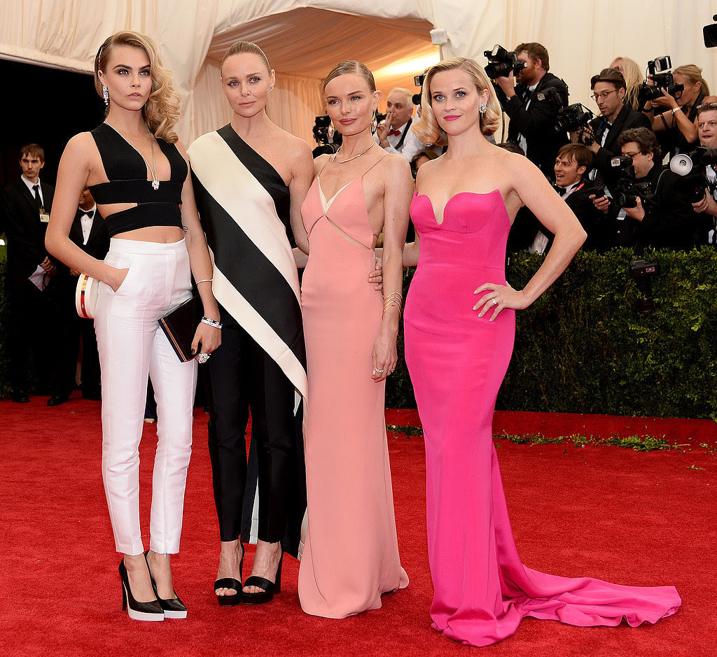Cara Delevingne, Stella McCartney, Kate Bosworth and Reese Witherspoon