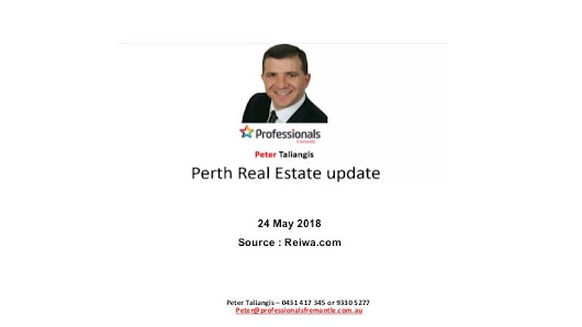 Perth Real Estate, May 24th 2018 - Real Estate Market Update.