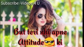Download Thumbnail For Girls Attitude Whatsapp Status At Best Girls