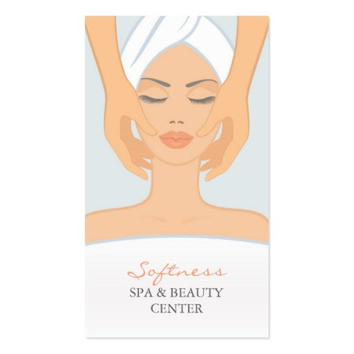 Spa and Beauty Business Card | Zazzle
