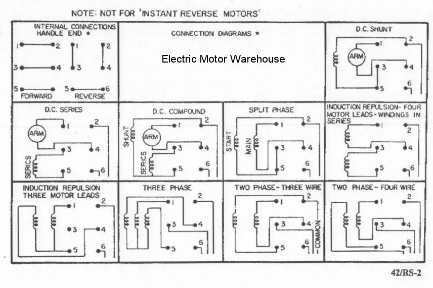 Rs 2 Relay Controls 1 5 Hp 2 Hp Electric Motor Reversing Drum Switch Position Maintained