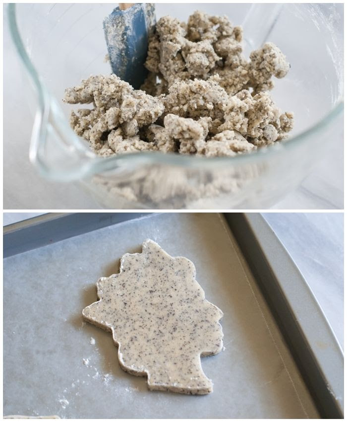tea with the queen : earl grey shortbread cookie recipe | bakeat350.blogspot.com