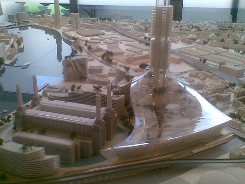 Battersea Power Station Model and EcoDome