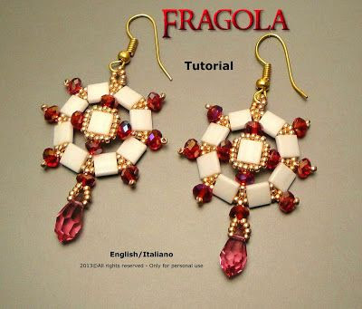 Perle&Bijoux: Fragola Earrings