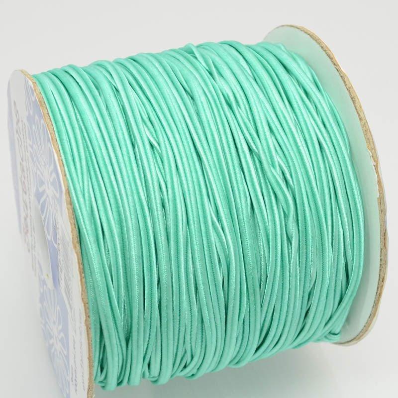 75000901-30 Braid - 3 mm Nylon Soutache - Turquoise Green (1 meter)