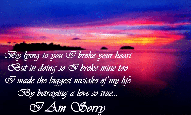 I Am Sorry Messages For Girlfriend Sweet Apology Quotes For Her