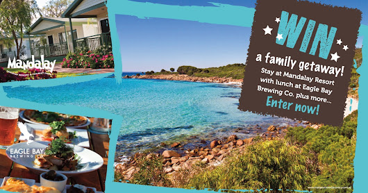 WIN 2 nights at Mandalay and lunch at Eagle Bay Brewery.