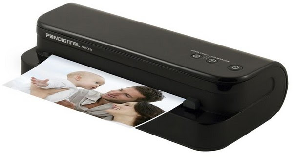 Pandigital Personal Photo Scanner/Converter cuts the cable, writes to memory cards