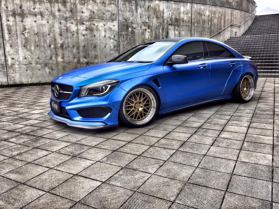 Japans Fairy Design Gets Mercedes Benz Cla In Touch With